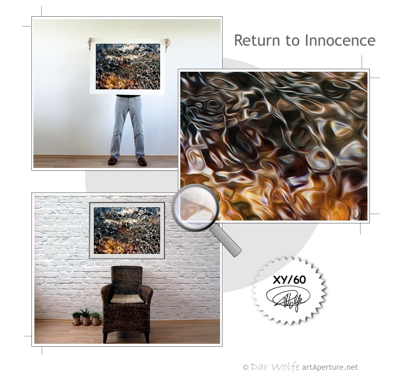 ArtAperture.net - Dar Wolfe - Return to Innocence - Organic - Organic scenery motifs combined with impressions of natural objects