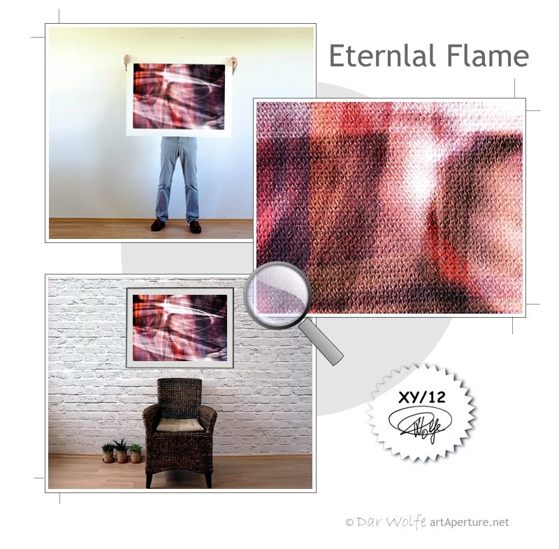 ArtAperture.net - Dar Wolfe - Eternal Flame - Astral - An innerspection of esoteric objects and their spiritual / material representations