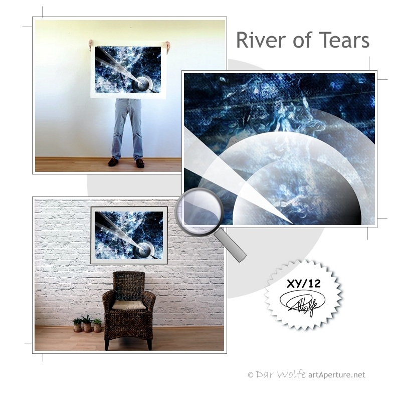 ArtAperture.net - Dar Wolfe - River of Tears - Astral - An innerspection of esoteric objects and their spiritual / material representations