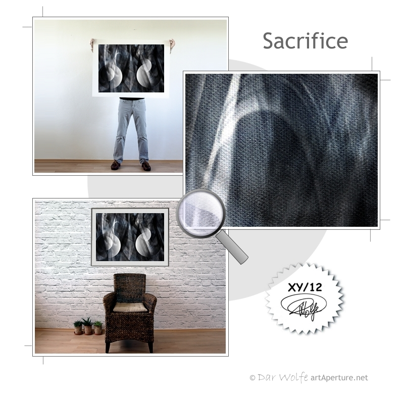 ArtAperture.net - Dar Wolfe - Sacrifice - Astral - An innerspection of esoteric objects and their spiritual / material representations