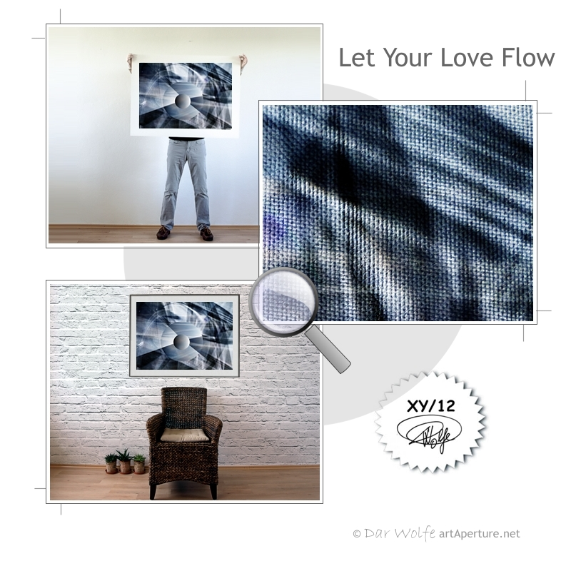 ArtAperture.net - Dar Wolfe - Let Your Love Flow - Astral - An innerspection of esoteric objects and their spiritual / material representations