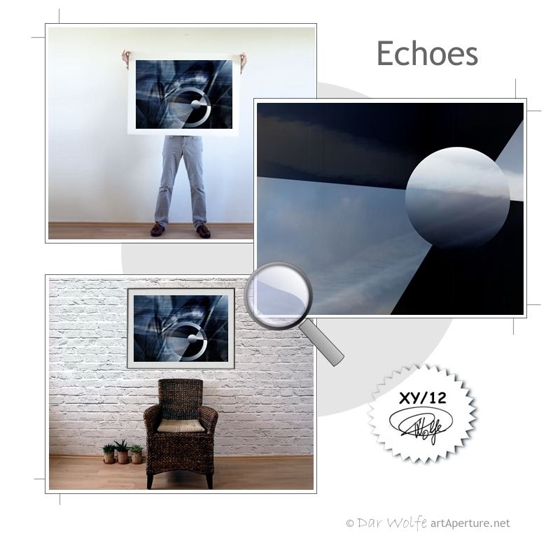 ArtAperture.net - Dar Wolfe - Echoes - Astral - An innerspection of esoteric objects and their spiritual / material representations