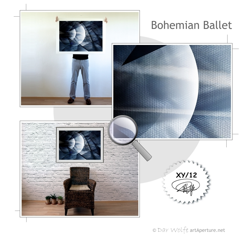 ArtAperture.net - Dar Wolfe - Bohemian Ballet - Astral - An innerspection of esoteric objects and their spiritual / material representations