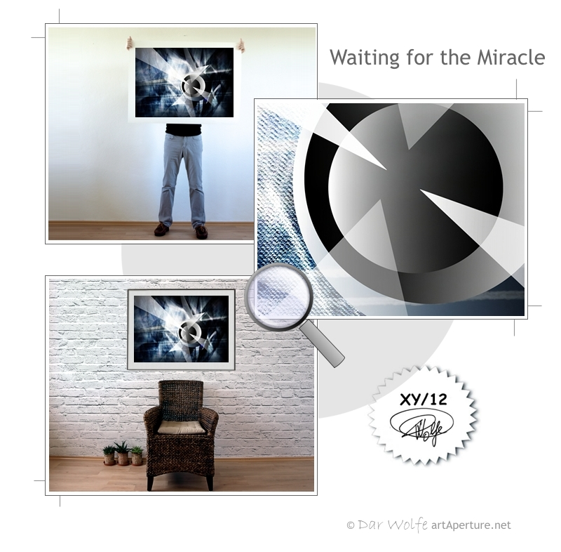 ArtAperture.net - Dar Wolfe - Waiting for the Miracle - Astral - An innerspection of esoteric objects and their spiritual / material representations