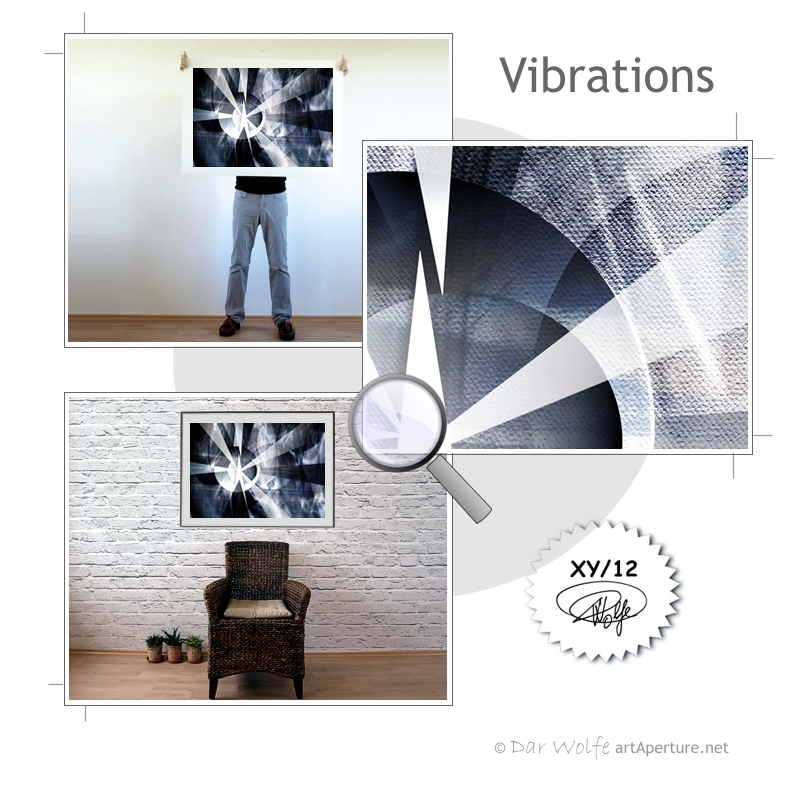 ArtAperture.net - Dar Wolfe - Vibrations - Astral - An innerspection of esoteric objects and their spiritual / material representations
