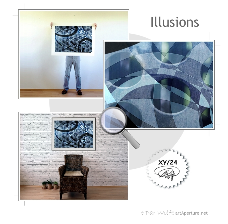 ArtAperture.net - Dar Wolfe - Illusions - Holistic - A modern art holistic approach to symbolic interactionism.