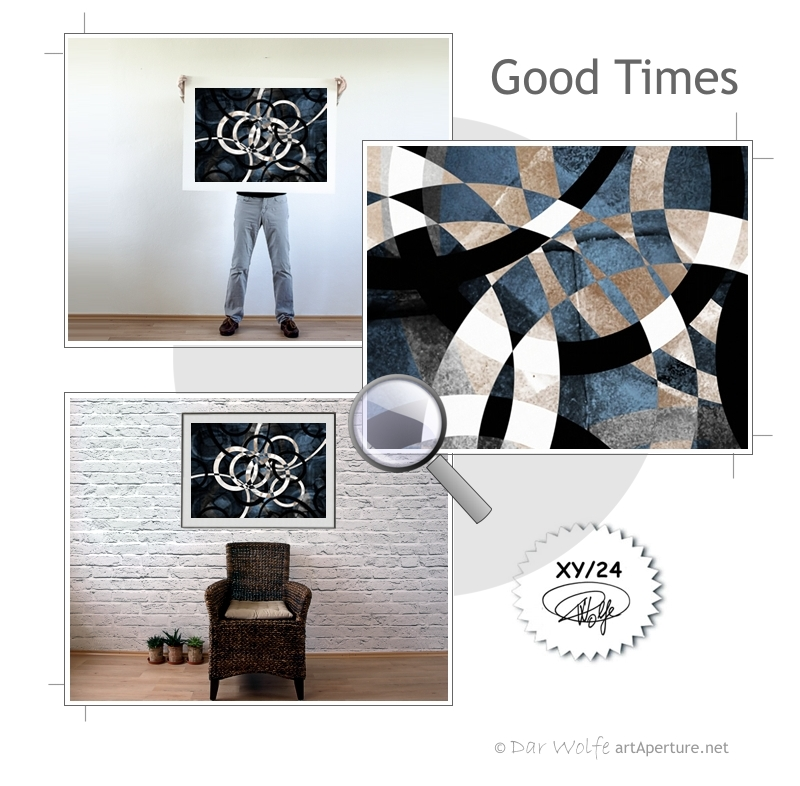 ArtAperture.net - Dar Wolfe - Good Times - Holistic - A modern art holistic approach to symbolic interactionism.