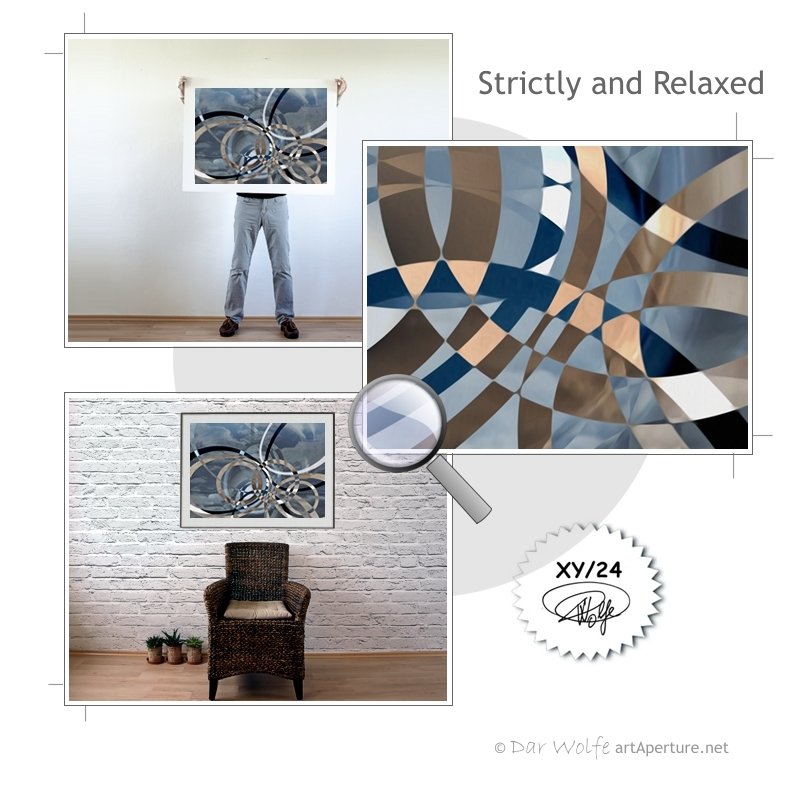 ArtAperture.net - Dar Wolfe - Strictly and Relaxed - Holistic - A modern art holistic approach to symbolic interactionism.