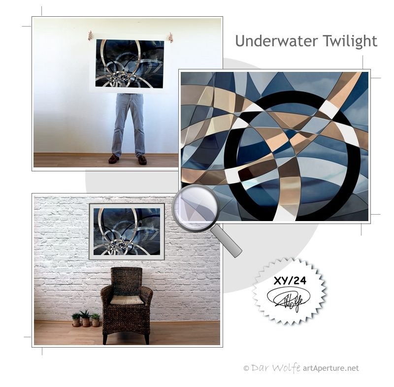 ArtAperture.net - Dar Wolfe - Underwater Twilight - Holistic - A modern art holistic approach to symbolic interactionism.