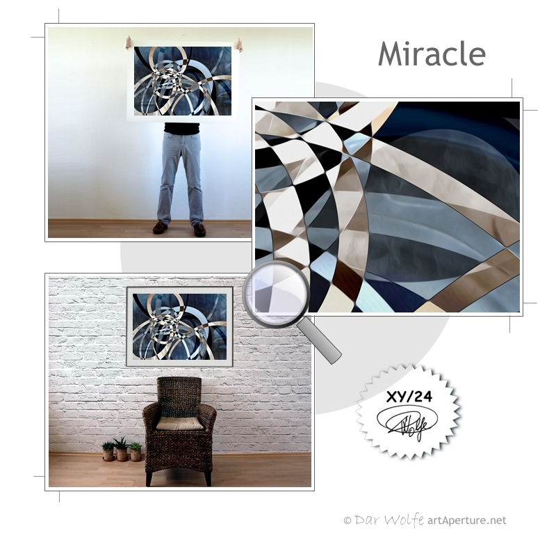 ArtAperture.net - Dar Wolfe - Miracle - Holistic - A modern art holistic approach to symbolic interactionism.