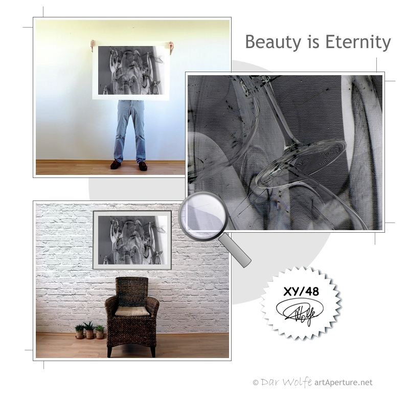 ArtAperture.net - Dar Wolfe - Beauty is Eternity - Enigmatic - A study of optical distortion achieved through play on light and shade.