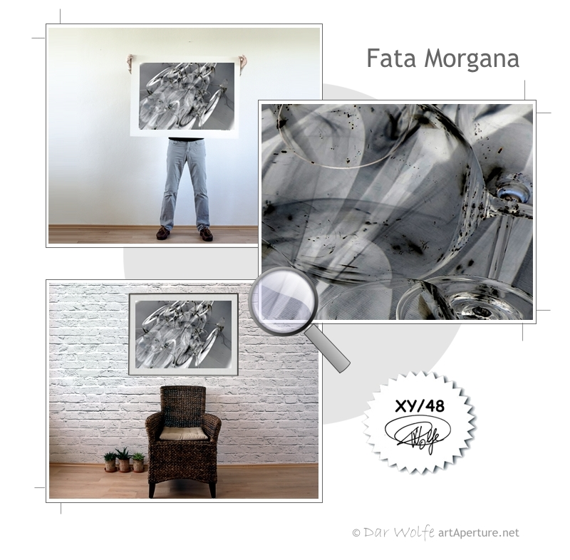 ArtAperture.net - Dar Wolfe - Fata Morgana - Enigmatic - A study of optical distortion achieved through play on light and shade.